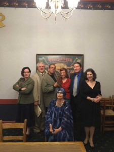 FestEvil Mystery Dinner cast